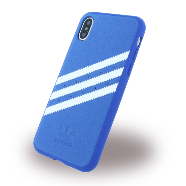Image of   Adidas - Moulded - Hard Cover - Apple iPhone X - Blue