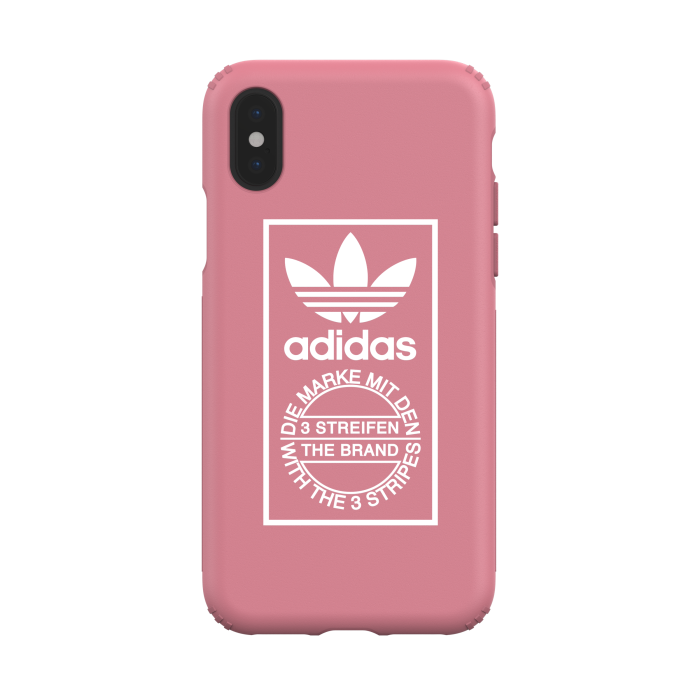 Image of   adidas OR Snap Case TPE HARDCOVER SS18 for iPhone X/Xs pink