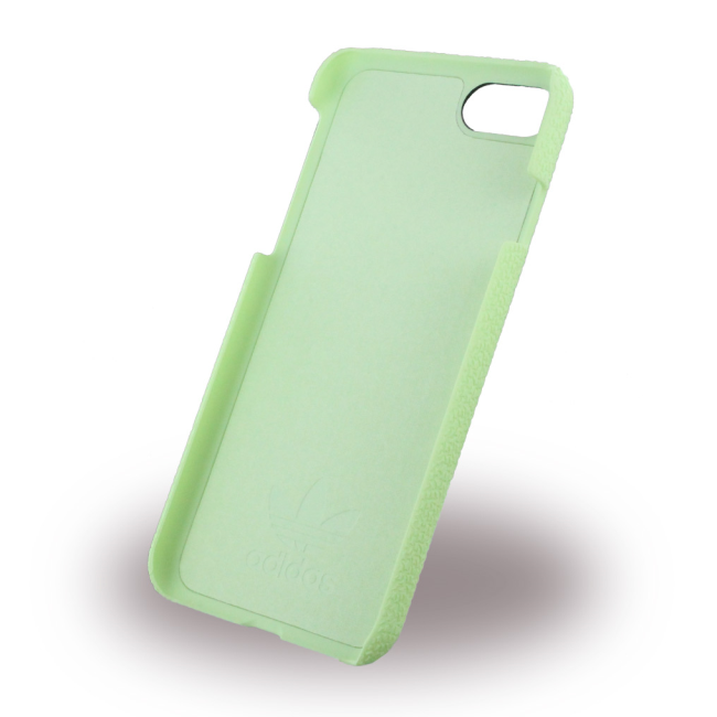 Image of   Adidas - Originals Moulded - Hard Cover / Hard Case - Apple iPhone 7 - Vapour Green/White