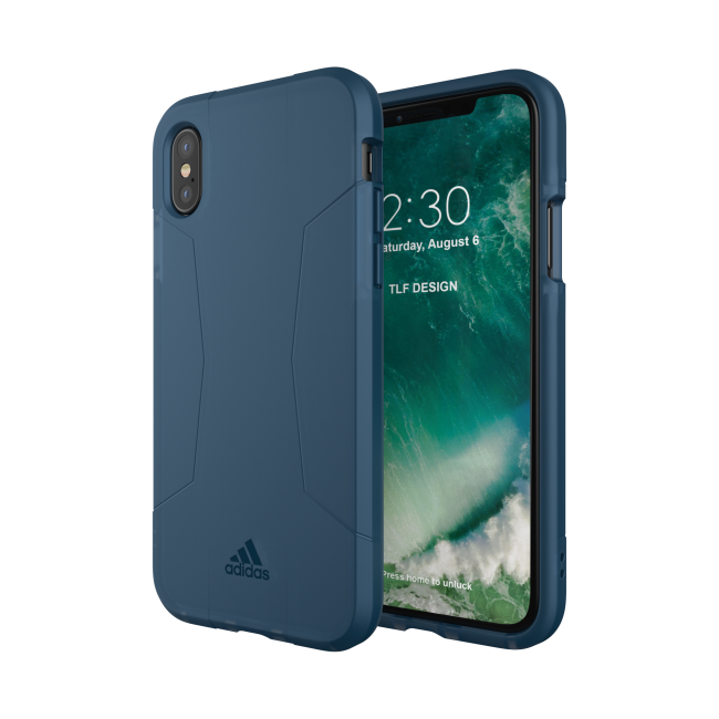 Image of   adidas SP Agravic Case for iPhone X collegiate navy