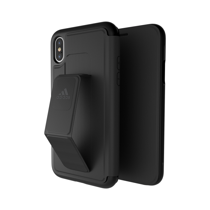 Image of   adidas SP Folio Grip Case FW17 for iPhone X/Xs black