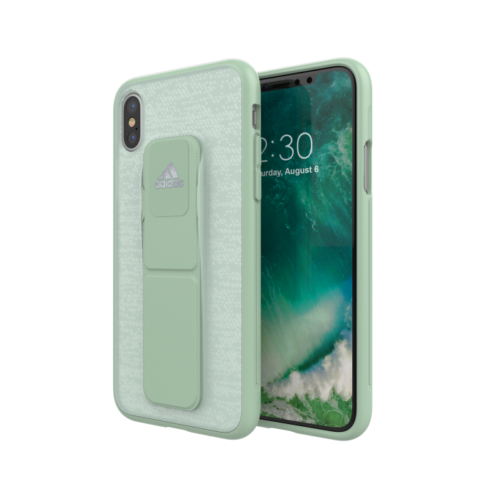 Image of   adidas SP Grip Case for iPhone X/Xs aero green