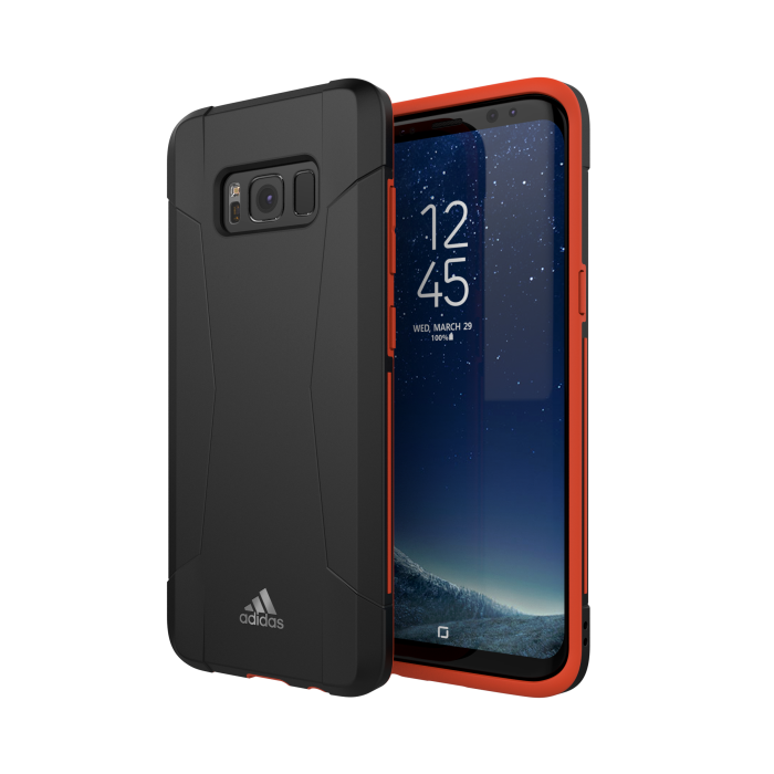 Image of   Adidas SP Performance Solo Cover Til Samsung Galaxy S8 - Sort/Rød
