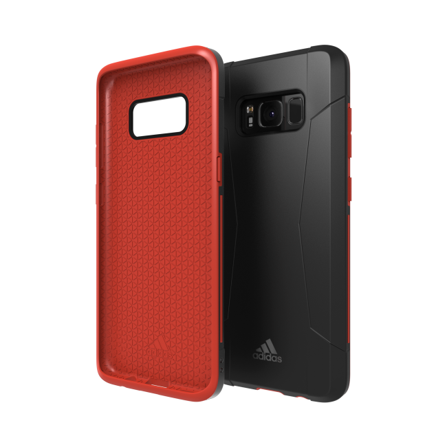 Image of   adidas SP Solo Case for Galaxy S8 black/red