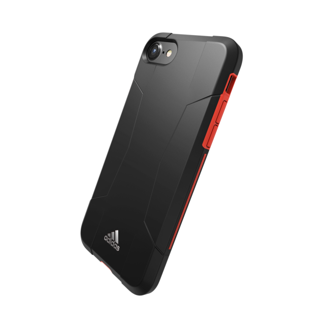 Image of   adidas SP Solo Case for iPhone 6/6s/7 black/red