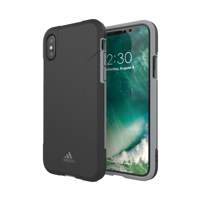 Image of   adidas SP Solo Case FW17 for iPhone X/Xs black/grey