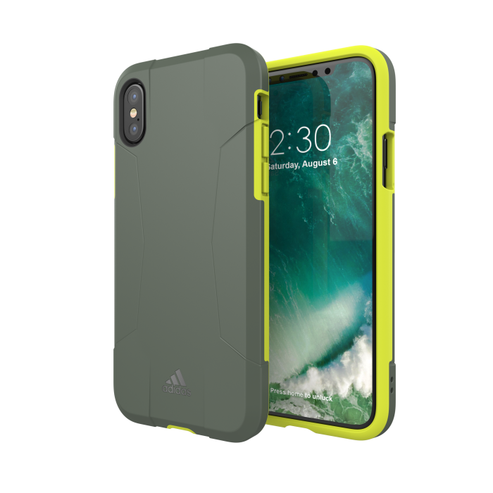 Image of   adidas SP Solo Case FW17 for iPhone X/Xs solar yellow