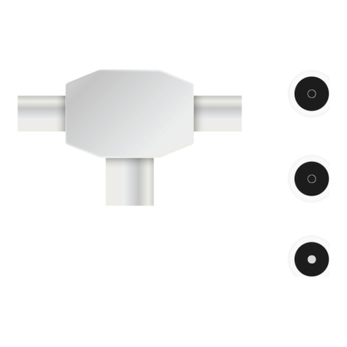Image of   Antenna TV-splitter 1-in/2-out