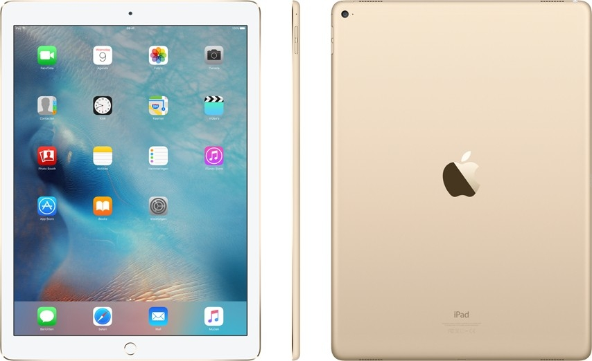 "Image of   Apple iPad Pro 12.9"" Wi-Fi + 4G 256GB Guld MPA62KN/A"