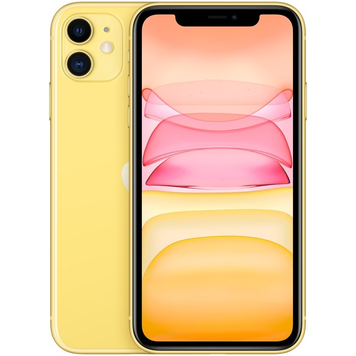 Image of   Apple iPhone 11 128GB Yellow - MWM42QN/A