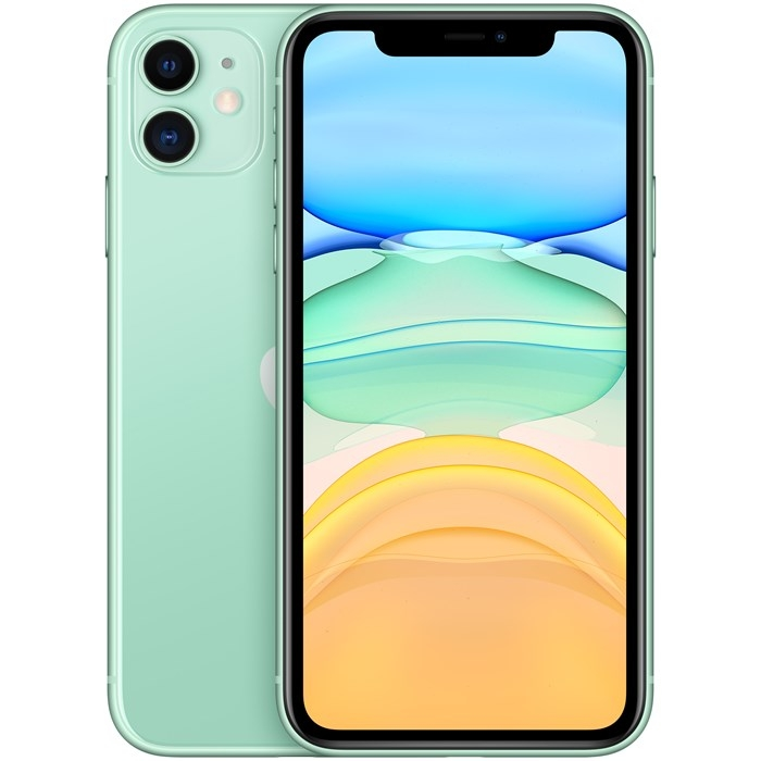 Image of   Apple iPhone 11 256GB Green - MWMD2QN/A