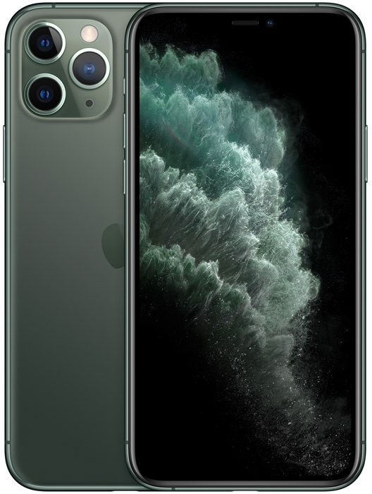 Image of   Apple iPhone 11 Pro 256GB Midnight Green - MWCC2QN/A