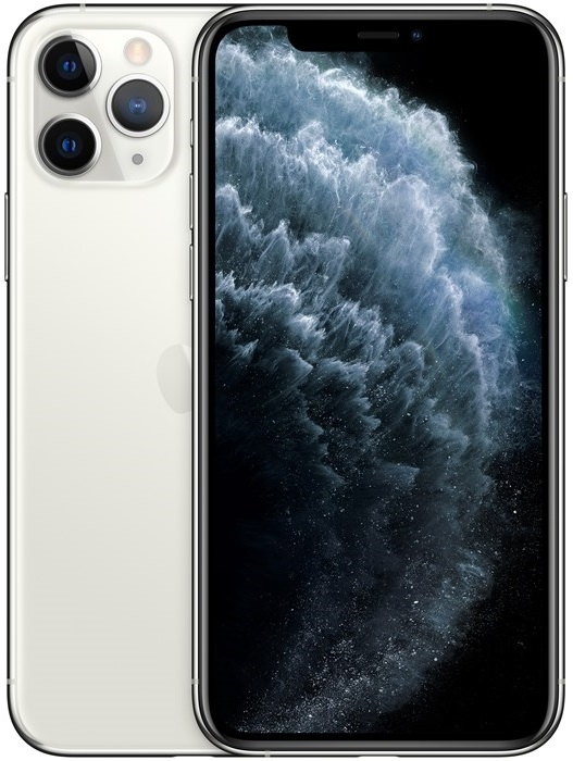 Image of   Apple iPhone 11 Pro 256GB Silver - MWC82QN/A