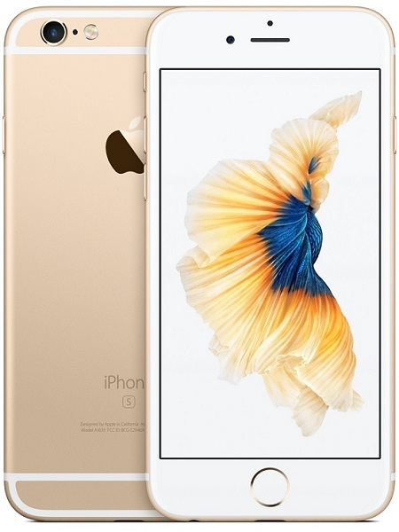 Image of   Apple iPhone 6S 128GB Guld