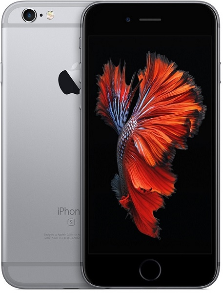 Image of   Apple iPhone 6S 128GB Space Grå