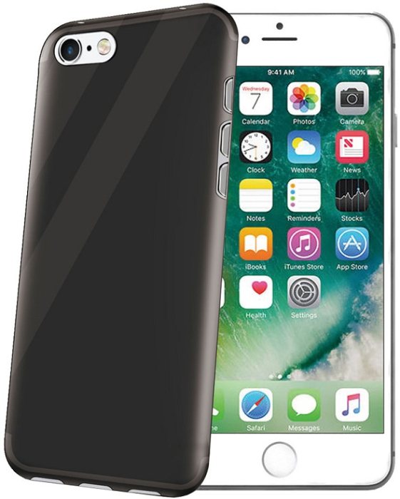 Image of Apple iPhone 7/8 Celly Gelskin Cover Sort