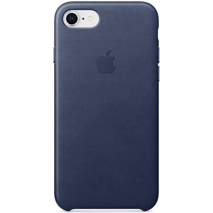 Image of APPLE IPHONE 7/8 LEATHER CASE MIDNIGHT BLUE MQH82ZM/A