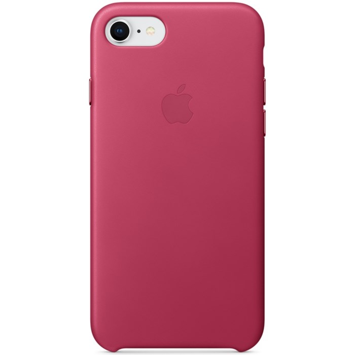 Image of   APPLE IPHONE 7/8 LEATHER CASE PINK FUCHSIA MQHG2ZM/A