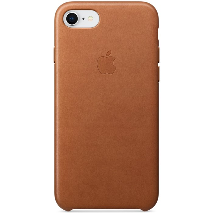 Image of   APPLE IPHONE 7/8 LEATHER CASE SADDLE BROWN MQH72ZM/A