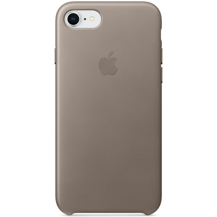 Image of   APPLE IPHONE 7/8 LEATHER CASE TAUPE MQH62ZM/A