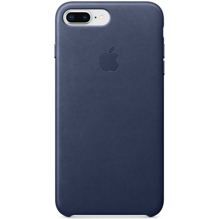 Image of   APPLE IPHONE 7/8 PLUS LEATHER CASE MIDNIGHT BLUE MQHL2ZM/A
