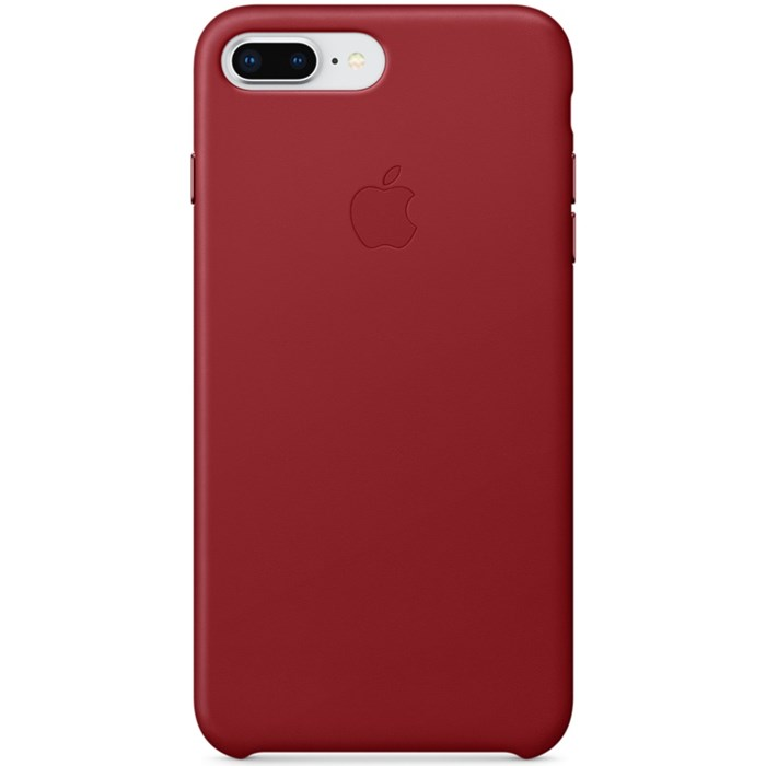 Image of   APPLE IPHONE 7/8 PLUS LEATHER CASE (PRODUCT) RED MQHN2ZM/A