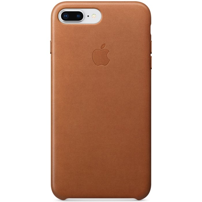 Image of   APPLE IPHONE 7/8 PLUS LEATHER CASE SADDLE BROWN MQHK2ZM/A