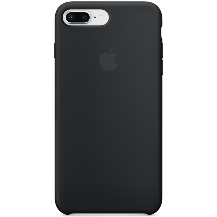 Image of   APPLE IPHONE 7/8 PLUS SILICONE CASE BLACK MQGW2ZM/A
