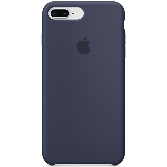 Image of   APPLE IPHONE 7/8 PLUS SILICONE CASE MIDNIGHT BLUE MQGY2ZM/A