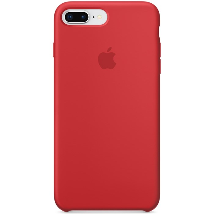 Image of   APPLE IPHONE 7/8 PLUS SILICONE CASE RED MQH12ZM/A