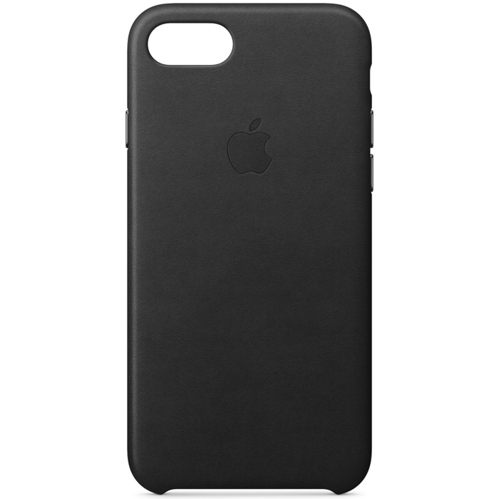 Image of   APPLE IPHONE 7/8 SILICONE CASE BLACK MQGK2ZM/A
