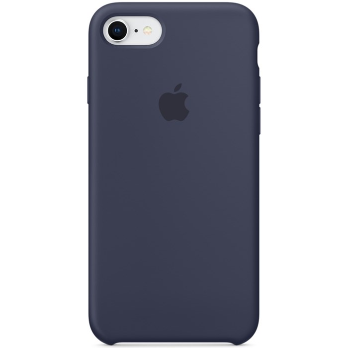 Image of   APPLE IPHONE 7/8 SILICONE CASE MIDNIGHT BLUE MQGM2ZM/A