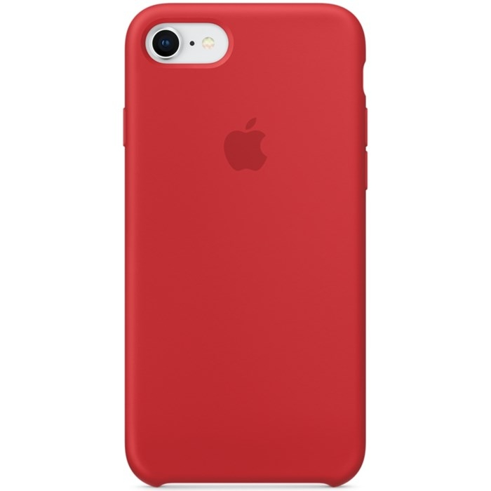 Image of APPLE IPHONE 7/8 SILICONE CASE RED MQGP2ZM/A