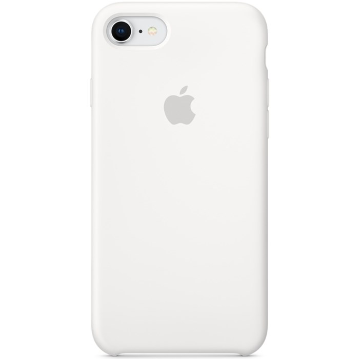 Image of   APPLE IPHONE 7/8 SILICONE CASE WHITE MQGL2ZM/A