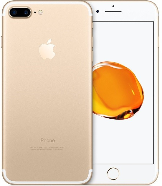 Image of   Apple iPhone 7 Plus 256GB Gold