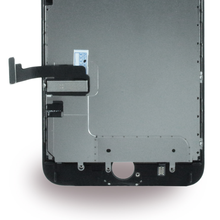 Image of   Apple iPhone 7 Plus - Spare Part - Complete LCD Display Module incl. Light Sensor + Front Camera - Black