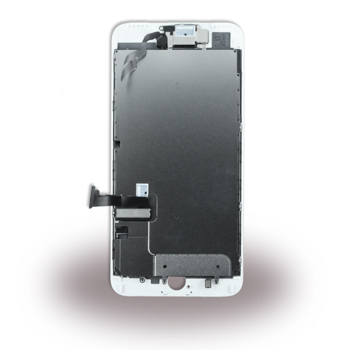 Image of   Apple iPhone 7 Plus - Spare Part - Complete LCD Display Module incl. Light Sensor + Front Camera - White
