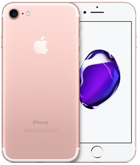 Image of   Apple iPhone 7 128GB Rose Gold