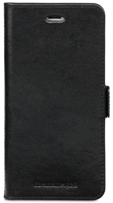 Image of Apple iPhone 8 Plus Læder Cover 2-i-1 Dbramante Lynge Sort