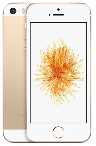 Image of   Apple iPhone SE 128GB Guld