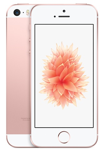 Image of   Apple iPhone SE 128GB Rose Gold
