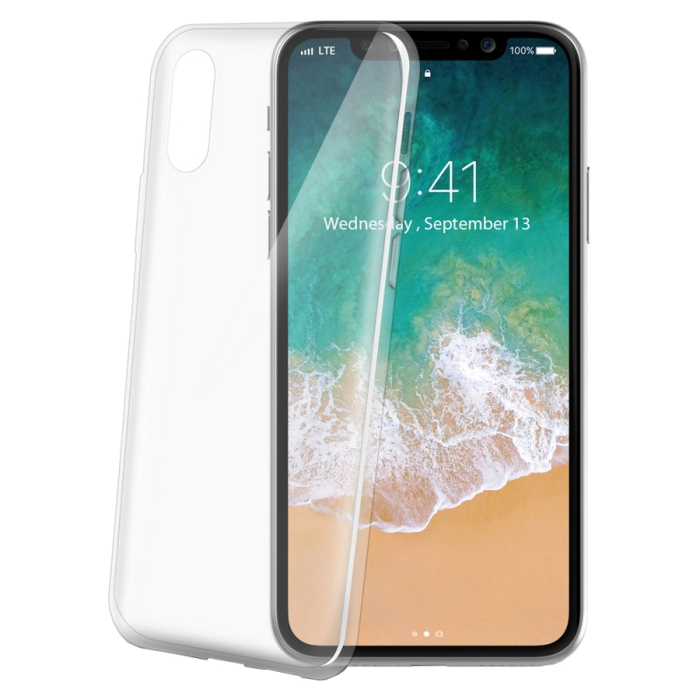 Image of   Apple iPhone XS Max Celly Gelskin TPU Cover