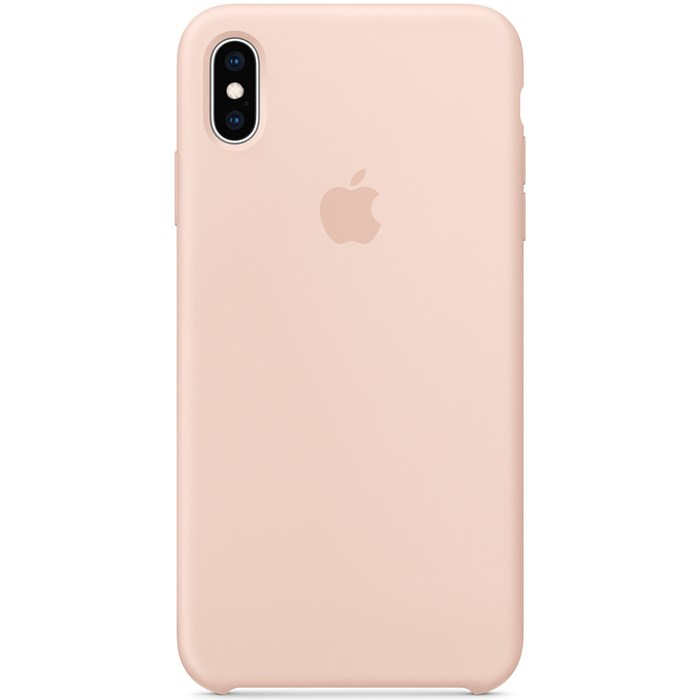 Image of   Apple iPhone XS Max Silicone Case - Pink Sand MTFD2ZM/A