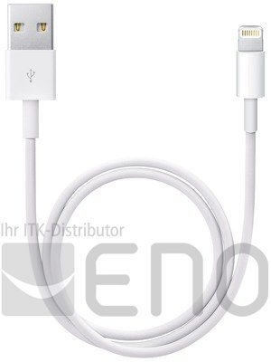 Image of   APPLE LIGHTNING TO (USB CABLE (0.5M))