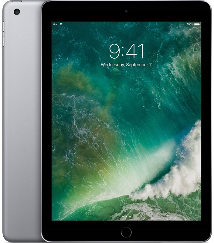 "Image of   Apple iPad 9.7"" (2017) Wi-Fi + 4G 32GB Space Grey MP1J2KN/A"