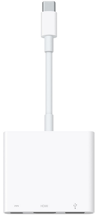 Image of   Apple USB-C-Digital AV-Multiport Adapter MJ1K2