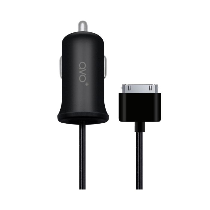 Image of   AVO+ car charger 1A 30pin black