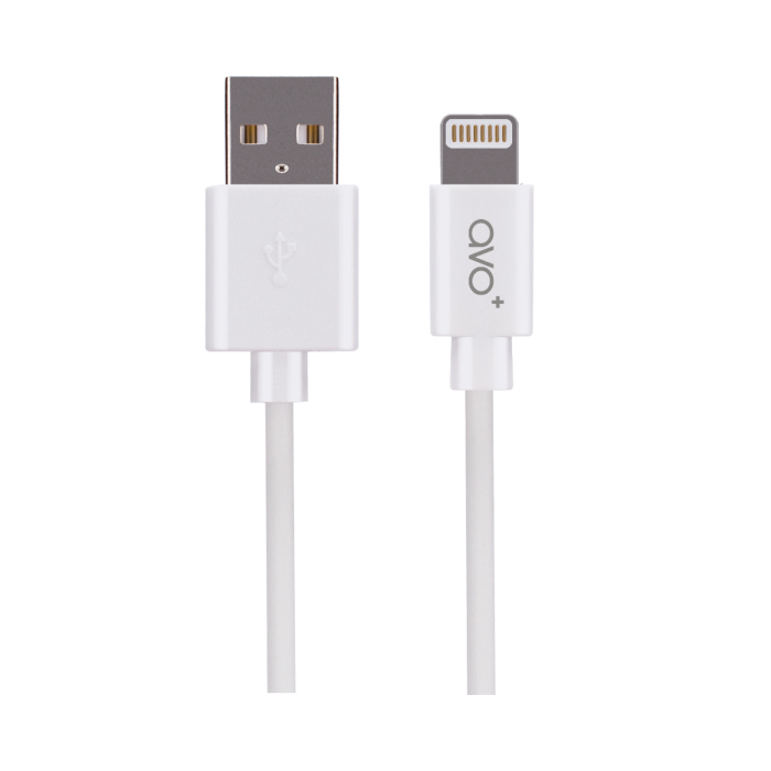 Image of   AVO+ charge and sync cable MFI Lightning white 1m white