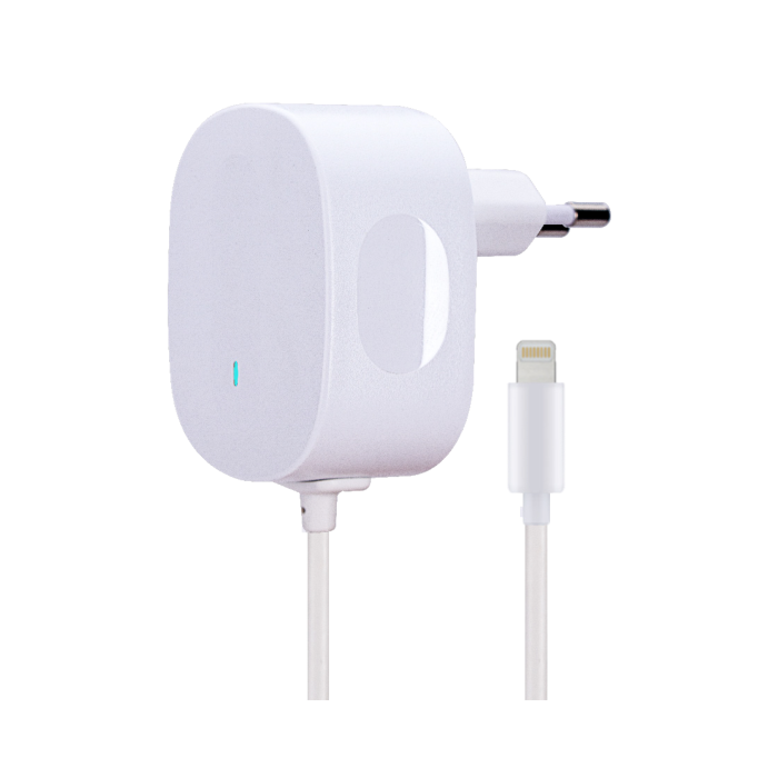 Image of   AVO+ travel charger 1A Lightning - EU white