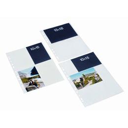 Image of   Bantex Fotolommer 10x15 Hvid Lodret 10 stk.